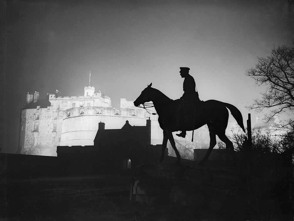 Statue Of Haig In Edinburgh fine art photography