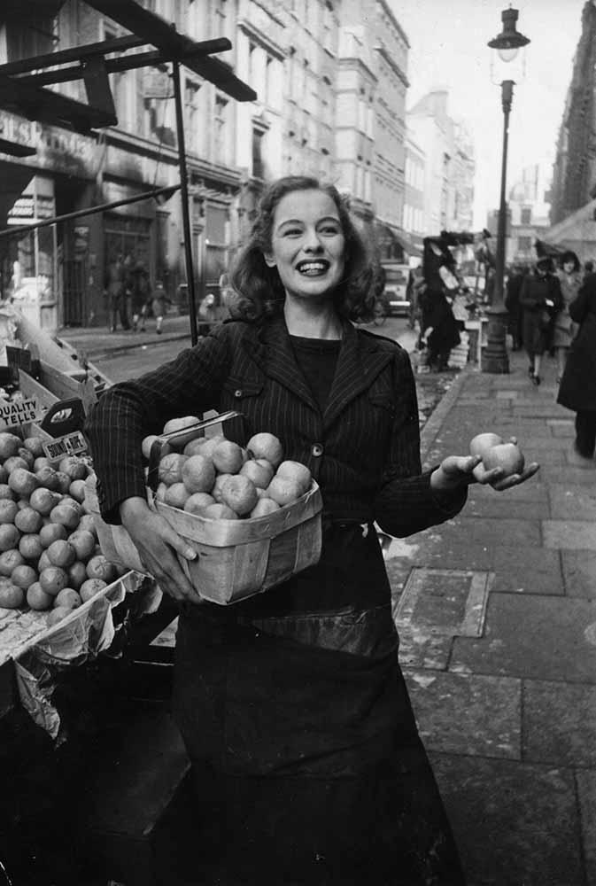 Fruit Seller fine art photography