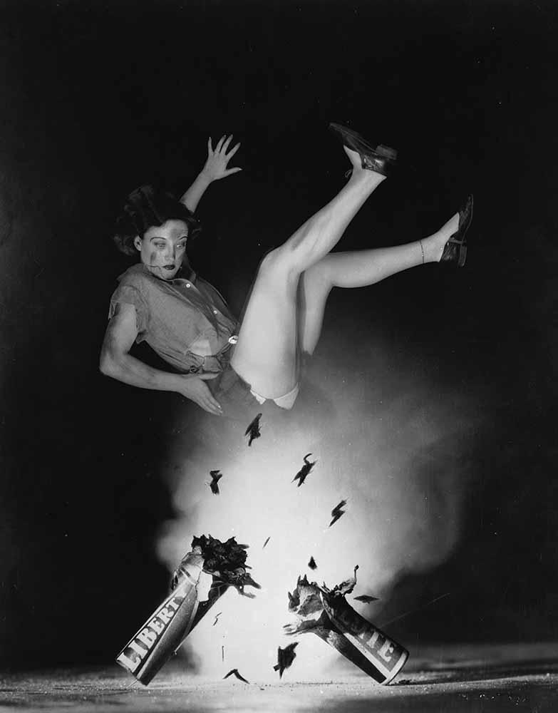 Joan Is Blown Away fine art photography