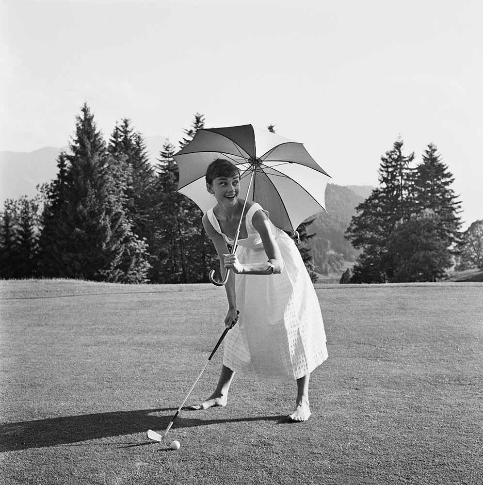 Golfing Hepburn fine art photography