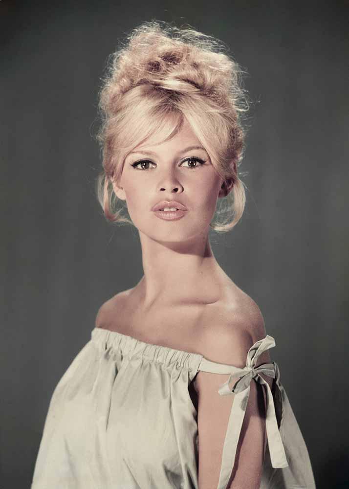 Pouting Bardot fine art photography