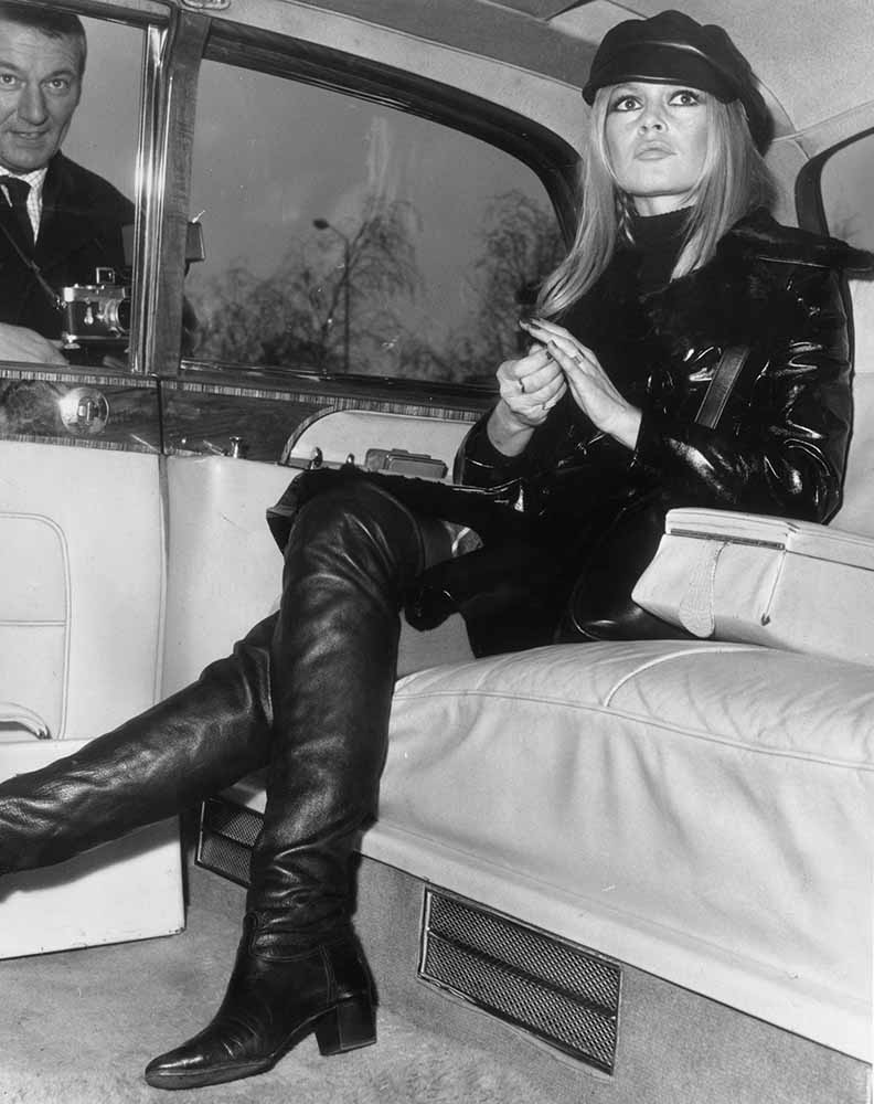 Bardot In Leather fine art photography