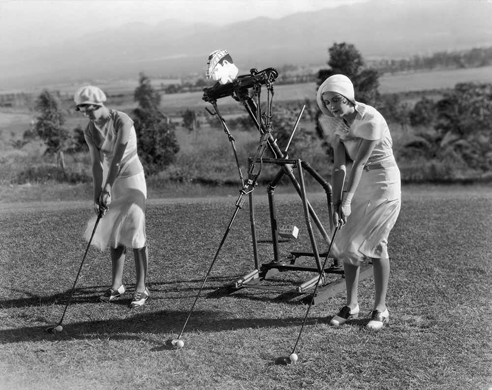 Golf Robot fine art photography