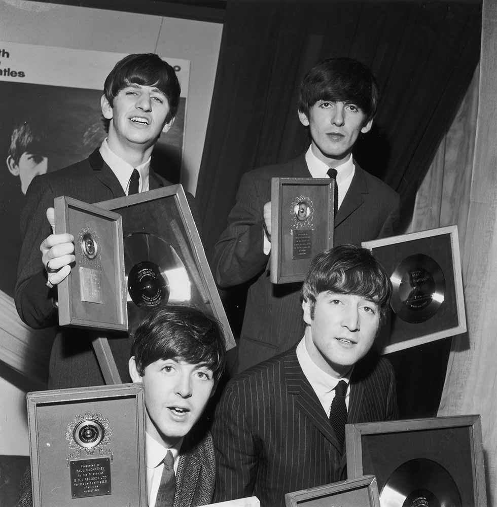 Beatles' Silver Discs fine art photography