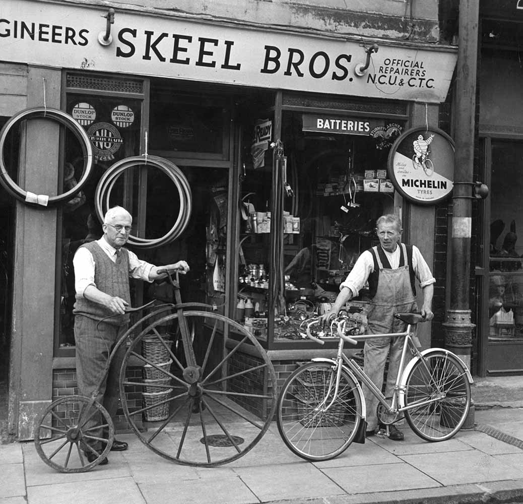 Bicycle Shop fine art photography