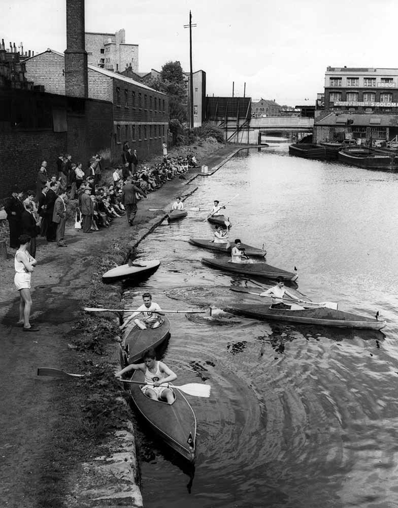 Canoe Race fine art photography