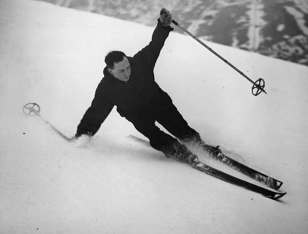 Derbyshire Skier fine art photography