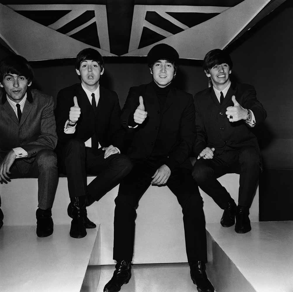 Beatles Thumbs Up fine art photography