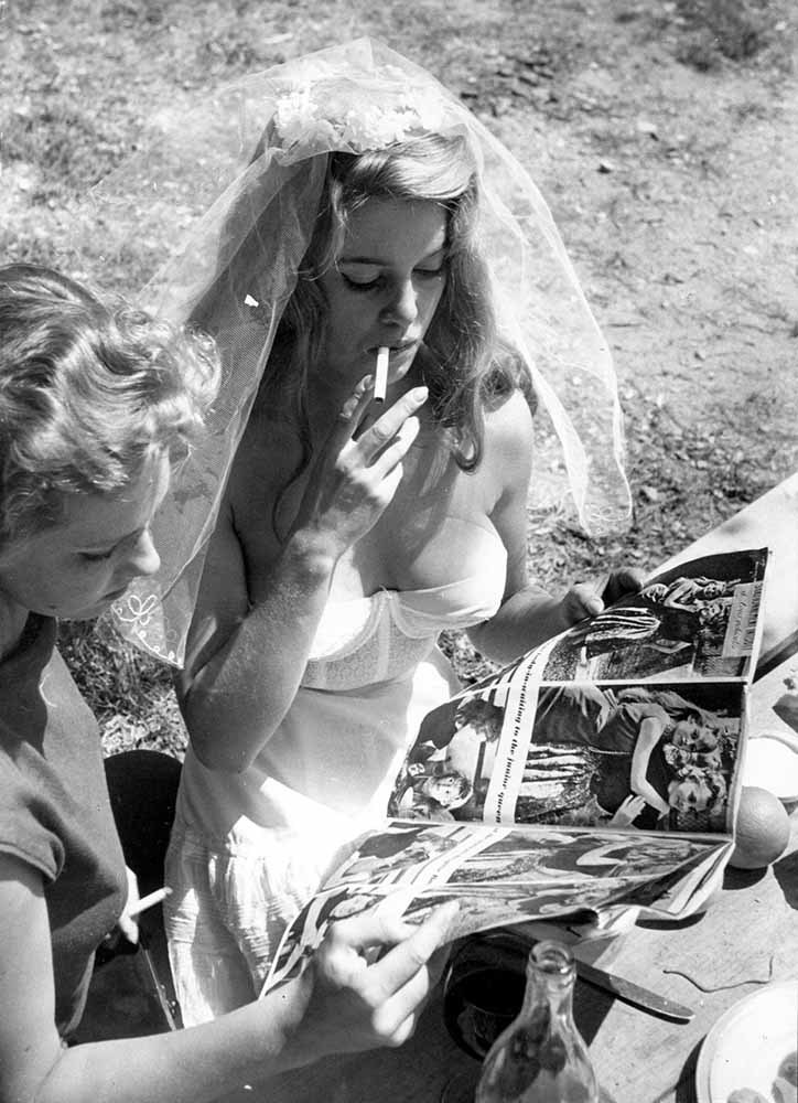 Brigitte On A Break fine art photography
