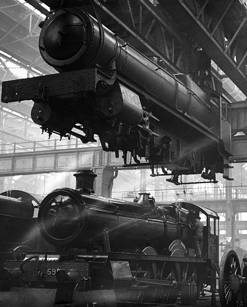 Locomotive Factory fine art photography