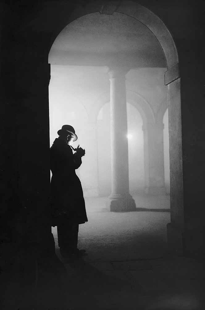 Man In Fog fine art photography