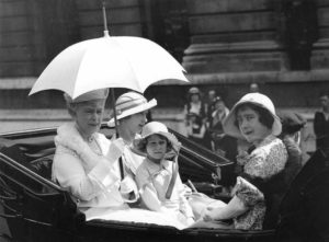 Royals In Carriage