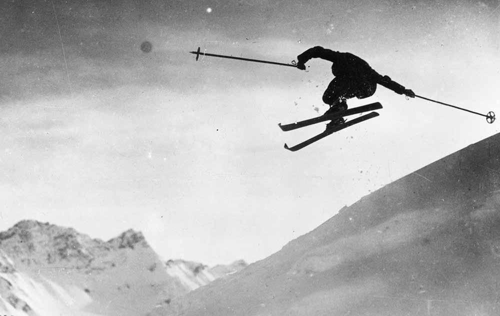 Ski Jumping fine art photography