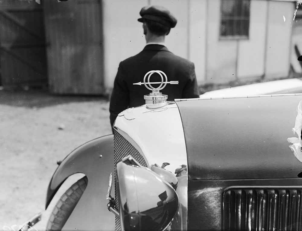 Bentley Mascot fine art photography