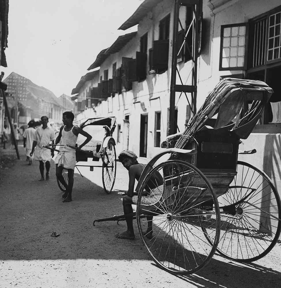 Rickshaws In India fine art photography
