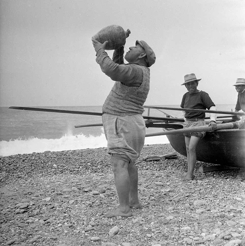 Thirsty Fisherman fine art photography