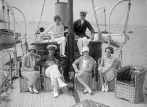 Birkenhead & Family On Yacht