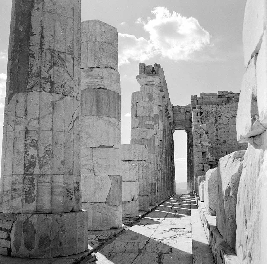 Inside The Parthenon fine art photography