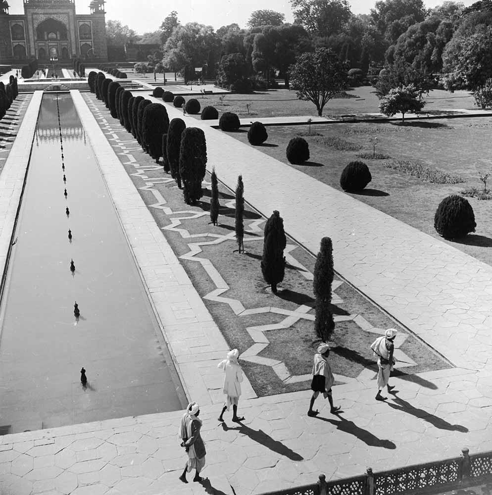 Taj Mahal Gardens fine art photography