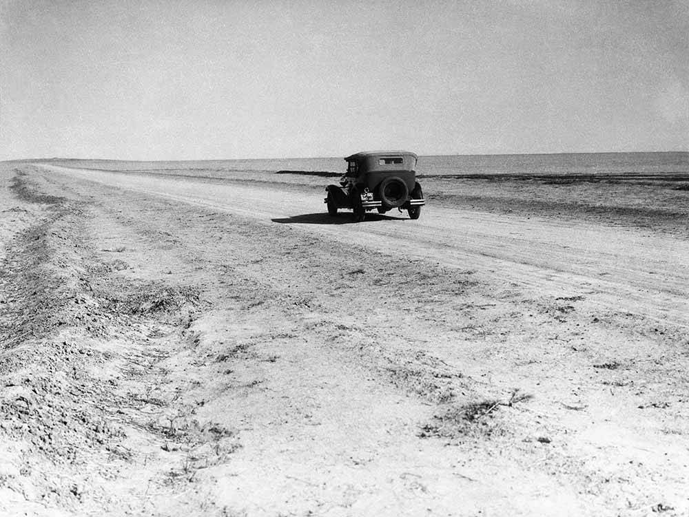 Desert Road fine art photography