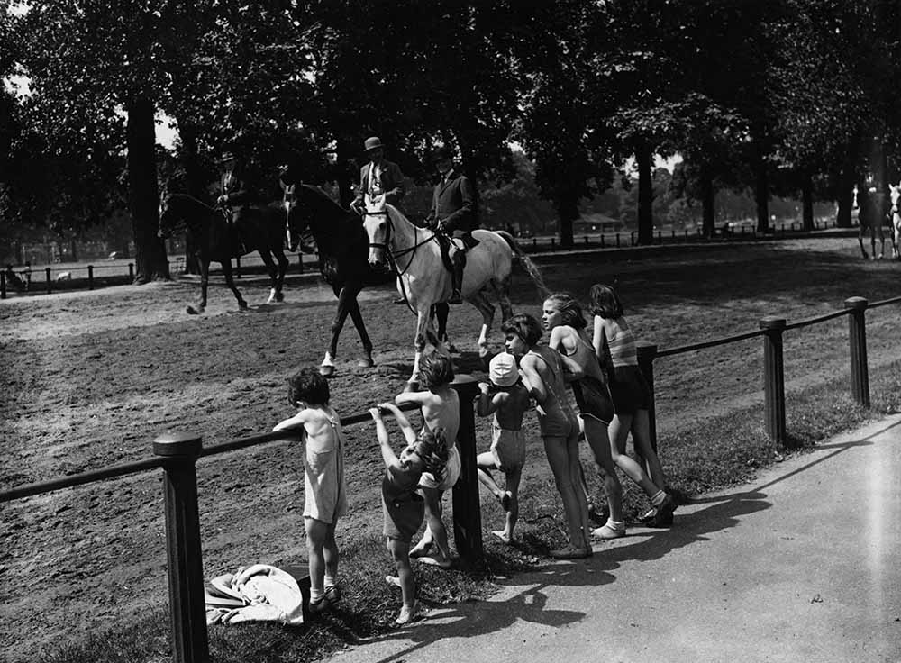 Hyde Park Heat Wave fine art photography