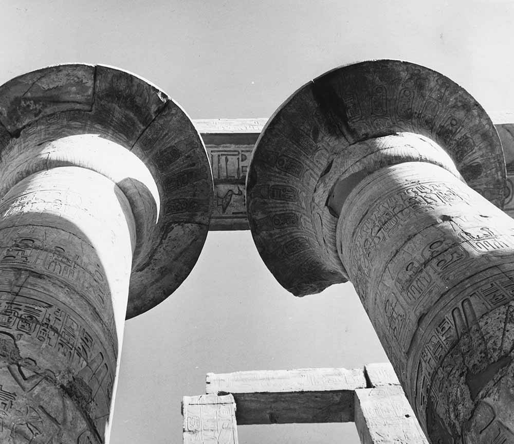 Karnak Pillars fine art photography