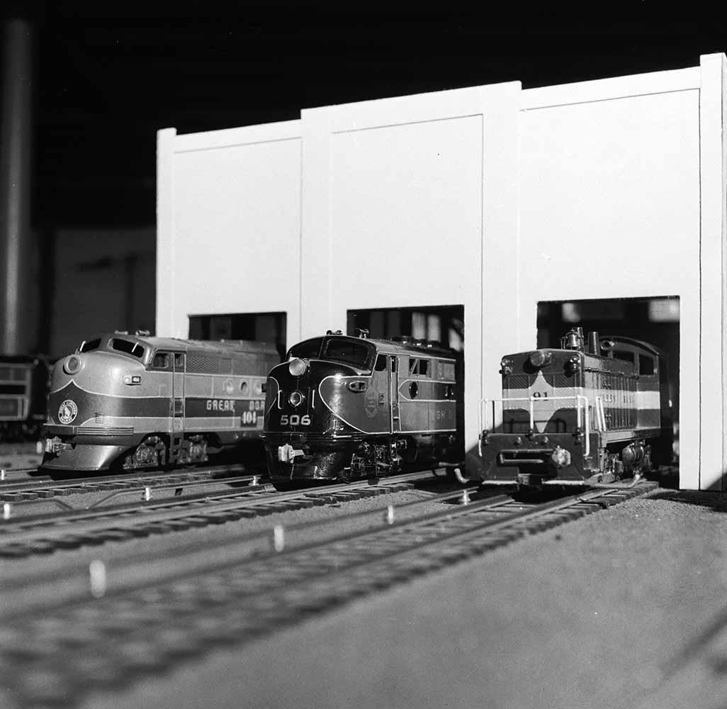 Model Diesel Trains fine art photography