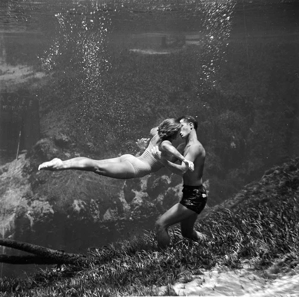 Underwater Kiss fine art photography