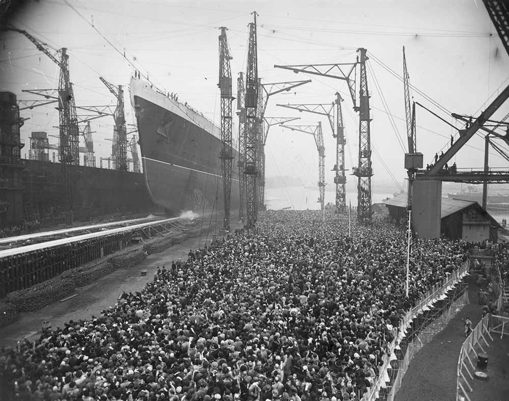 Ship Launching fine art photography
