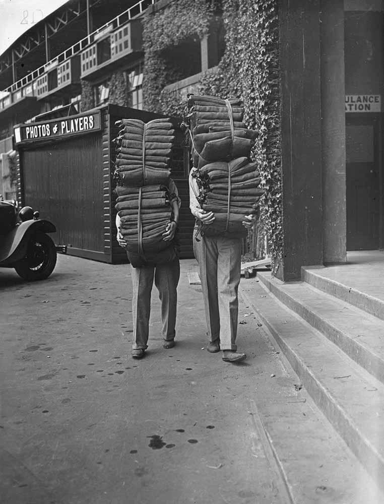 Wimbledon Cushions fine art photography