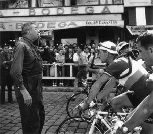 Cyclists Start
