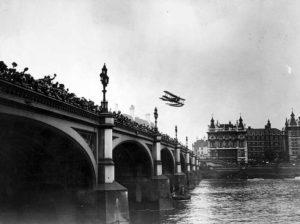 Flying Over Bridge
