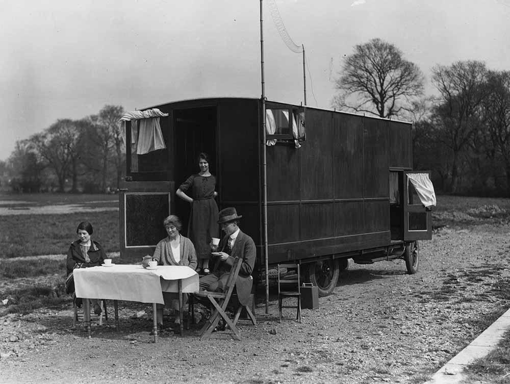 Overland Caravan fine art photography
