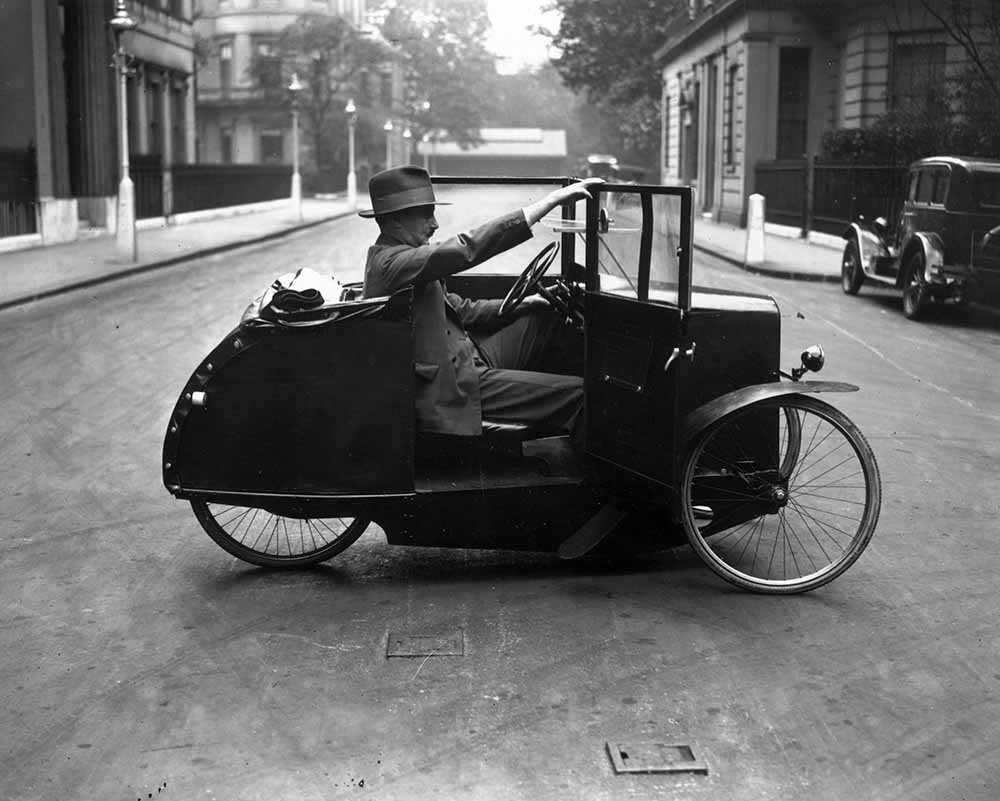One-Man Car Cycle fine art photography