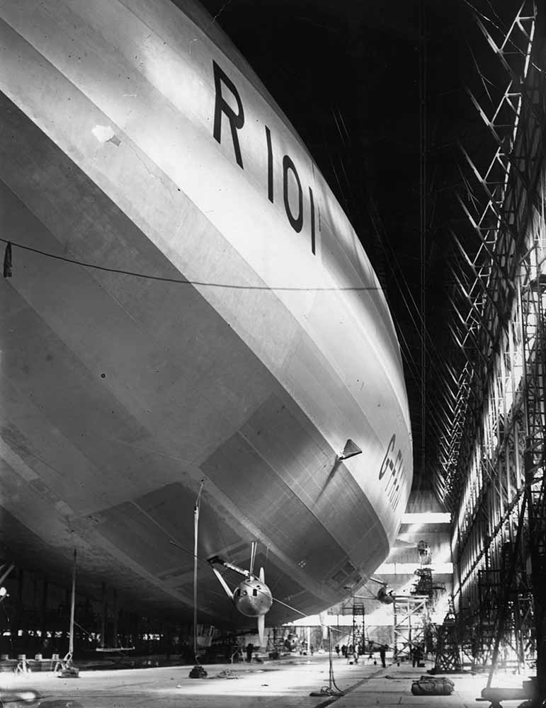 R101 Airship fine art photography