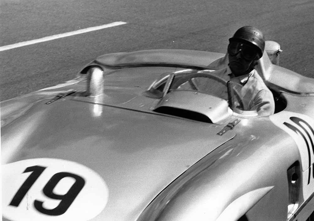Fangio At Le Mans fine art photography