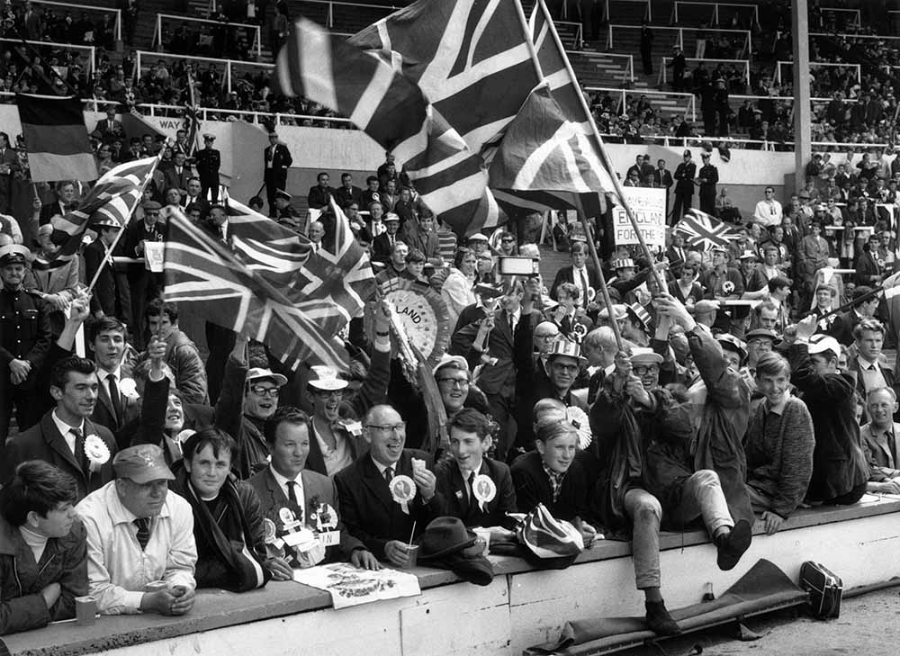England Fans fine art photography