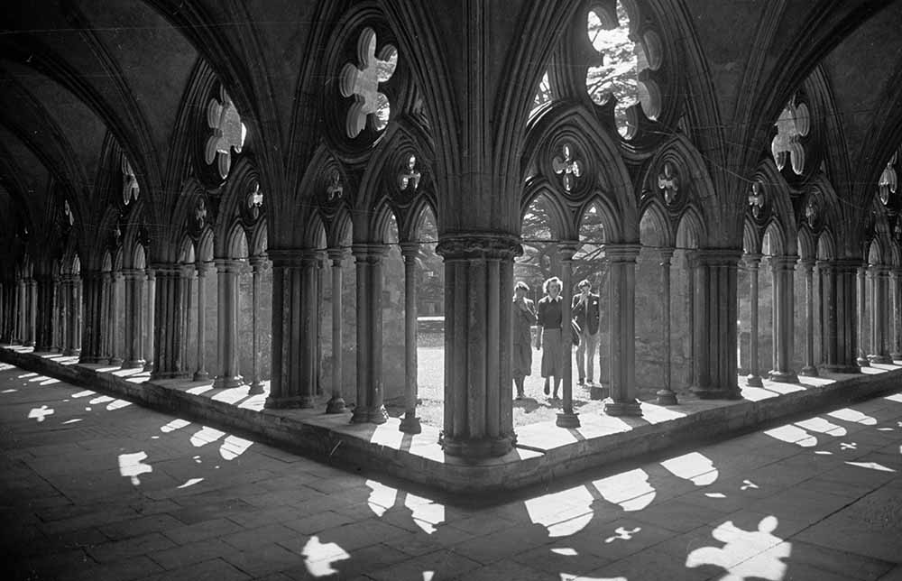 Cathedral Cloisters fine art photography