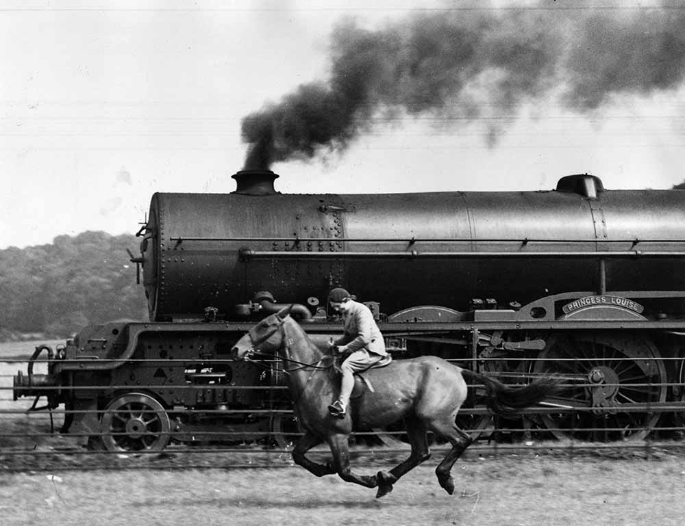 Steamy Steed fine art photography