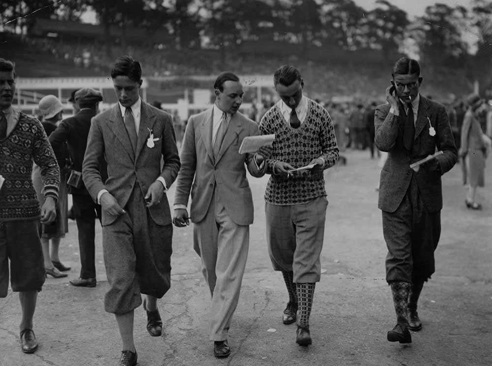 Three Plus Fours from London – Roaring '26: Jazz Age fine art photography