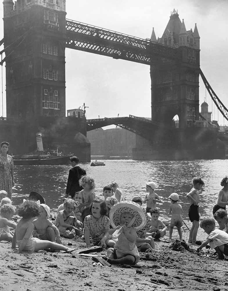 Tower Bridge Beach fine art photography