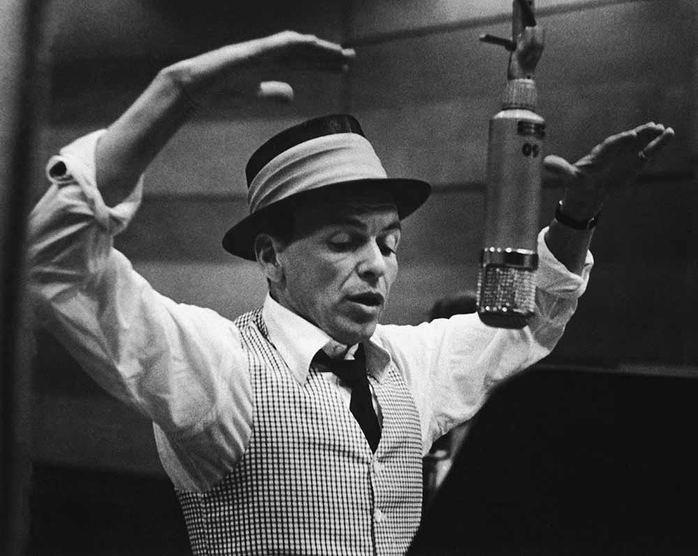 Frank Sinatra Recording Session fine art photography