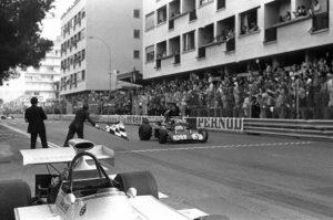Jackie Stewart (n. 5), triple Formula One champion
