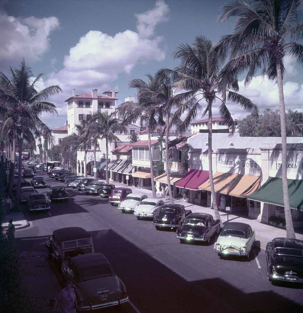 Palm Beach Street fine art photography