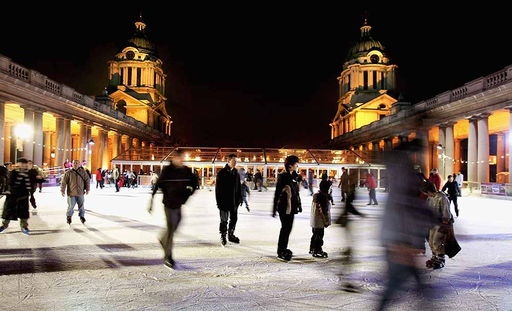 Greenwich Ice Rink Opens fine art photography