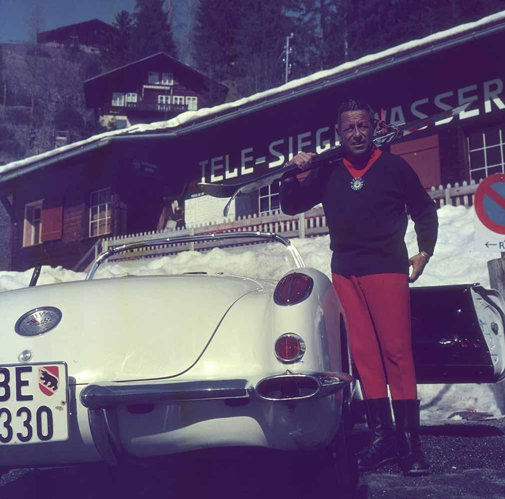 Gstaad Skier fine art photography
