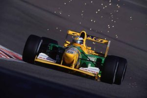 Schumacher's First Victory