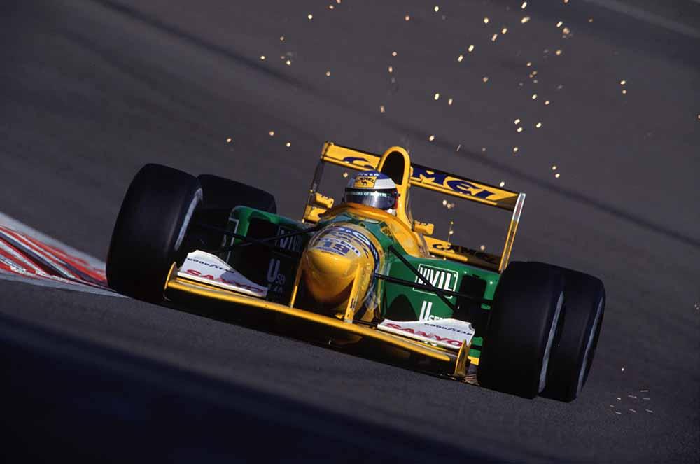 Schumacher's First Victory fine art photography