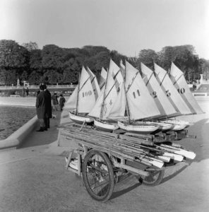 Toy Boats In Paris