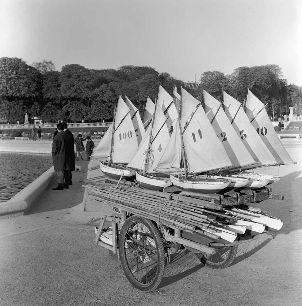 Toy Boats In Paris fine art photography